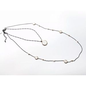 3 in 1 necklace, Mother of Pearl